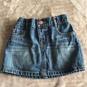 Toddler size skirt